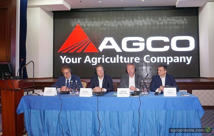 AGCO внедряет в Украине новую европейскую стратегию дистрибьюции