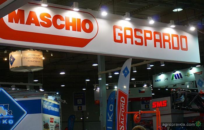 Какую технику Maschio Gaspardo посмотреть на выставке в Киеве