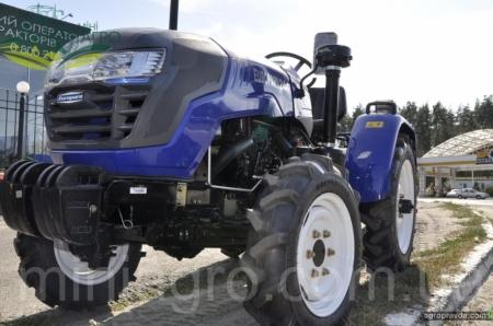 На рынок Украины выходит новая модель трактора Lovol