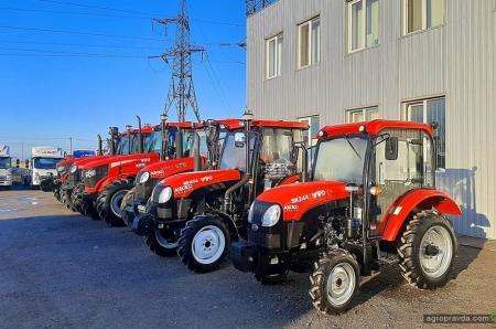 На рынок Украины выходят 6 новых моделей тракторов YTO