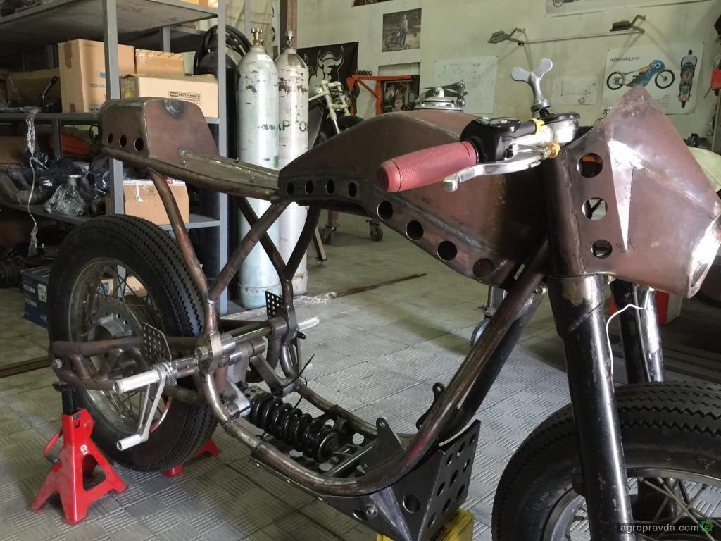 Как своим руками сделать мотоцикл 282