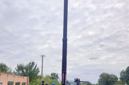 В Украине появился первый самый мощный погрузчик Manitou