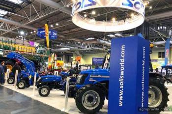 Тракторы Solis представили на крупнейшей выставке Британии