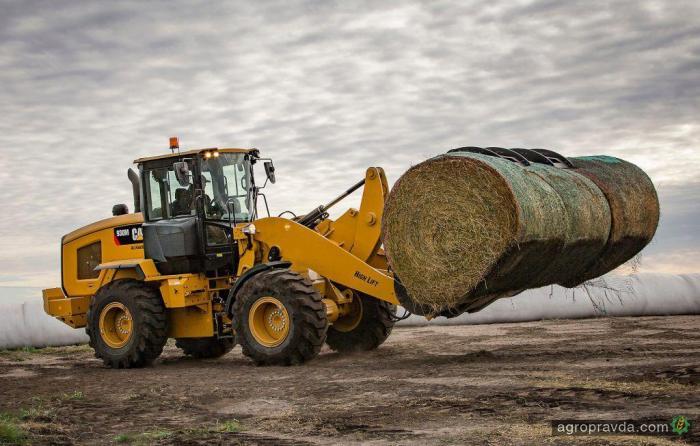 Caterpillar представил новый агропогрузчик