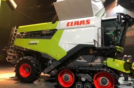 Claas представил новое поколение комбайна Lexion