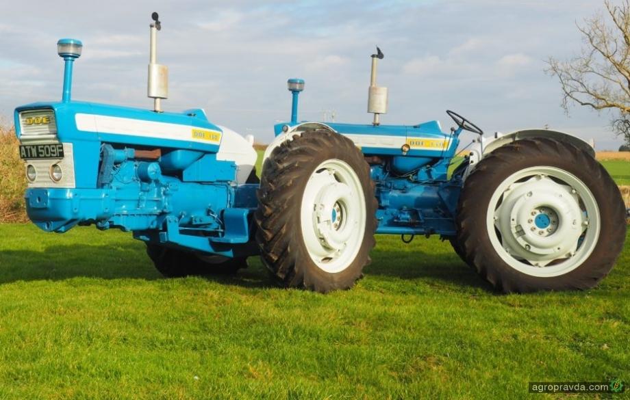 На аукцион выставят самый винтажный трактор Fordson