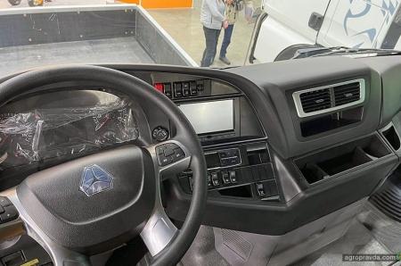 На украинском рынке представили две модели SITRAK для региональных перевозок