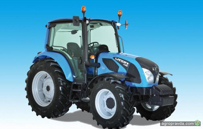 Landini запускает новую серию универсальных тракторов