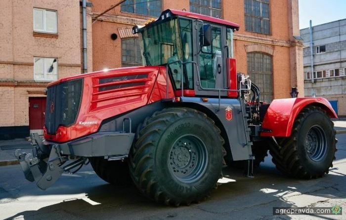 Представлено новое поколение тракторов «Кировец»