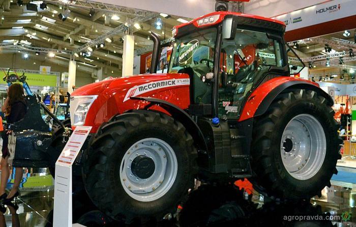McCormick продемонстрировал новые трактора X7-VTdrive