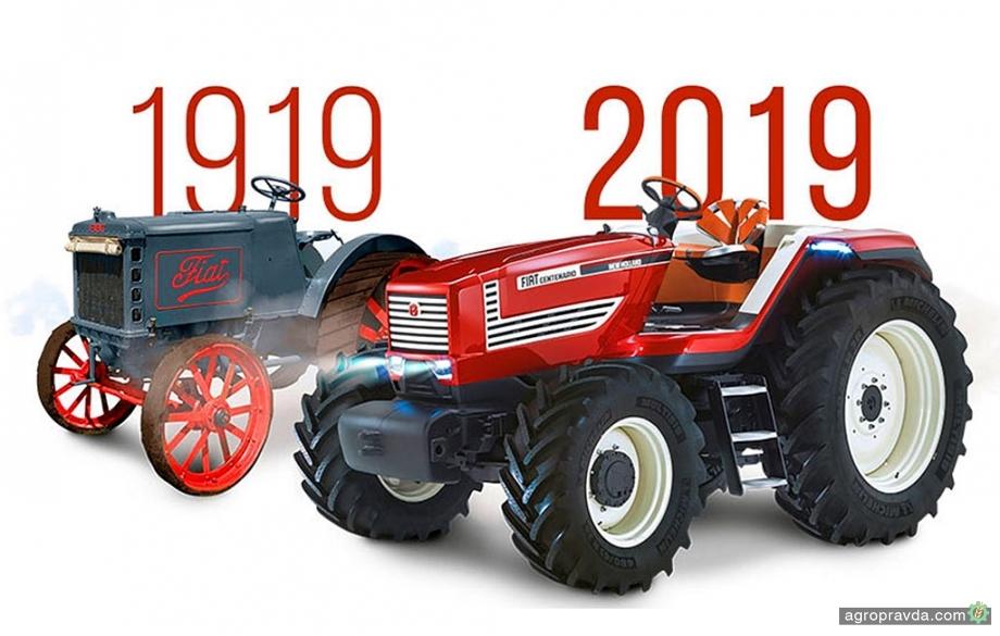 New Holland отмечает 100-летие производства тракторов