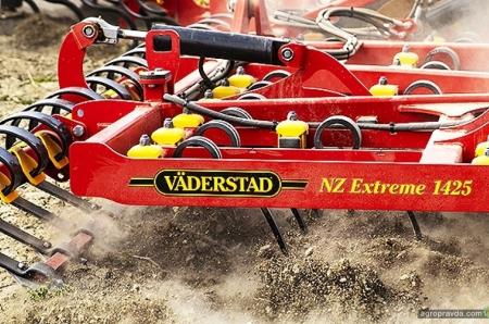 Väderstad представляет предпосевной культиватор NZ Extreme 1250-1425