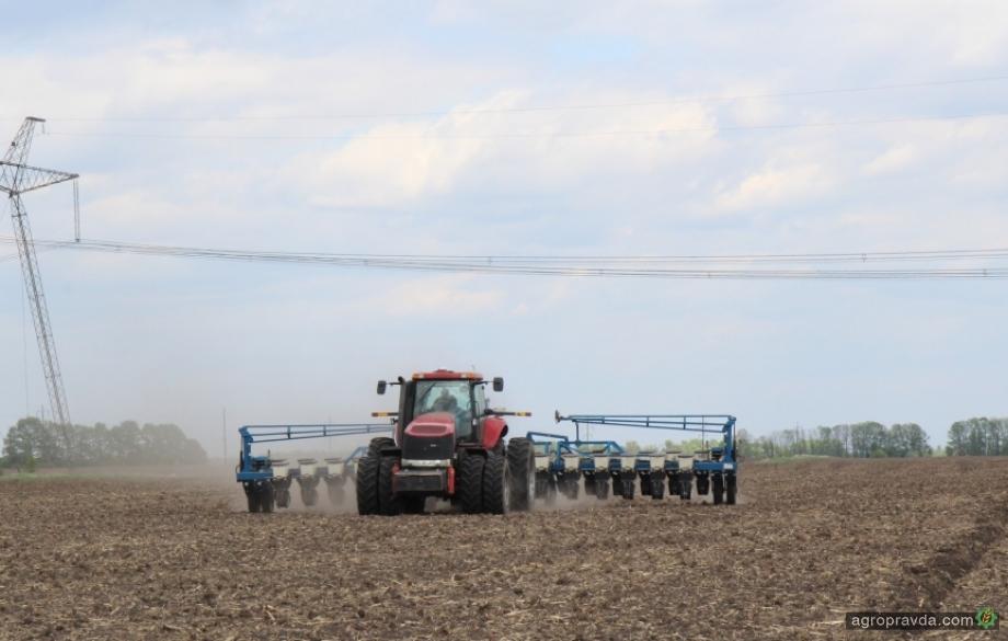 Агрохолдинги завершают посевную кампанию