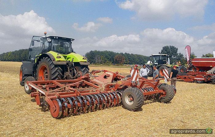 Новинки сельхозтехники из Германии - уже в Украине