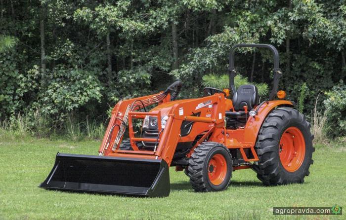 Kioti показал новые тракторы серии NX