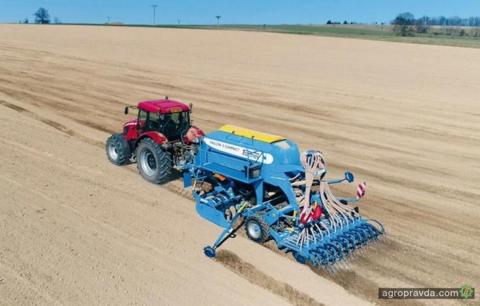 Farmet представил новые конструкции сеялок Compact
