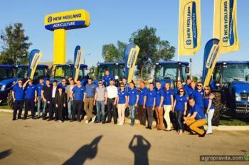 В Черкассах открылся новый дилерский центр New Holland. Фото
