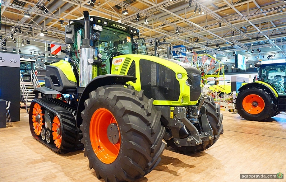 Концептуальный трактор Claas Axion Terra Trac стал серийным