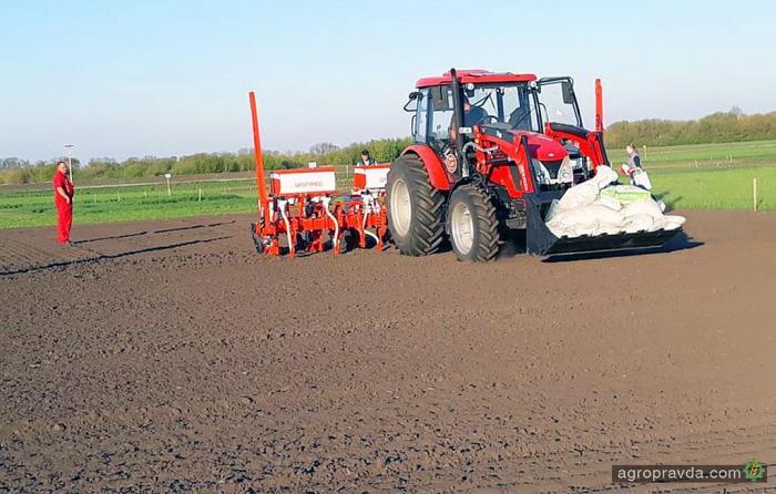 Яровые зерновые и зернобобовые уже посеяны на 6,4 млн. га