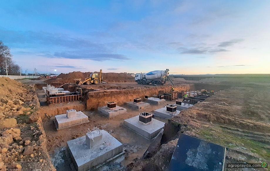 «Континентал Фармерз Групп» приступила к строительству нового картофелехранилища