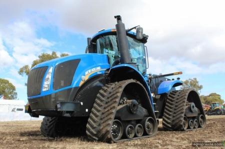 В Украине появились 4-гусеничные New Holland T9 SmartTrax