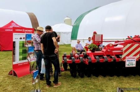 Lozova Machinery продолжает демонстрации техники в Канаде