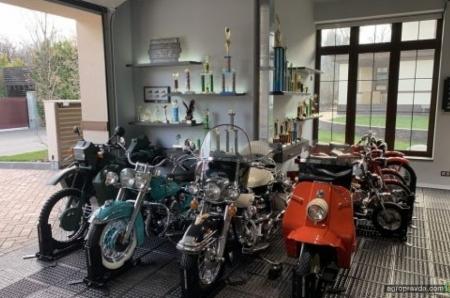 В Киеве открылся музей Harley-Davidson