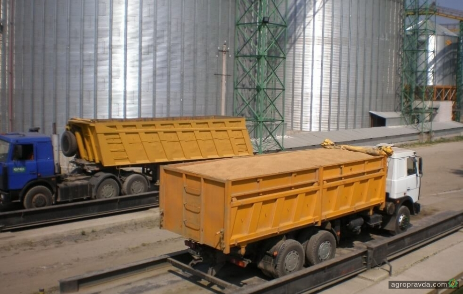 Темпы экспорта украинского зерна в 2 раза уступают прошлогодним