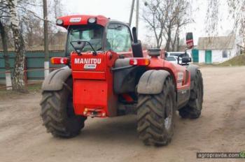 Первые отзывы о погрузчике Manitou MLT-X 732
