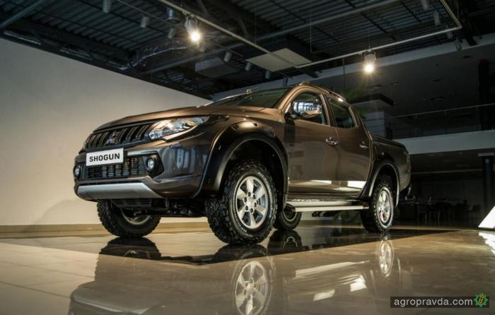 В Украине доступна ограниченная спецверсия Mitsubishi L200
