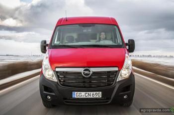 Начались поставки хлебных фургонов Opel Movano