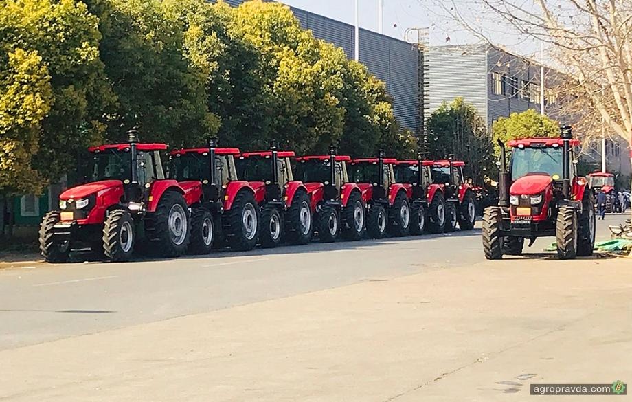 В Украине появятся обновленные тракторы YTO повышенной мощности