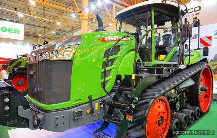 Гусеничные тракторы Fendt официально вышли на рынок Украины