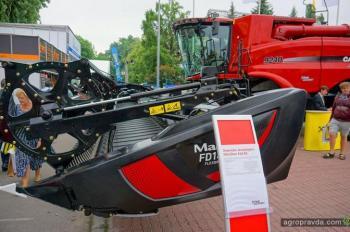 В Киеве представили топ-модель комбайна Axial-Flow