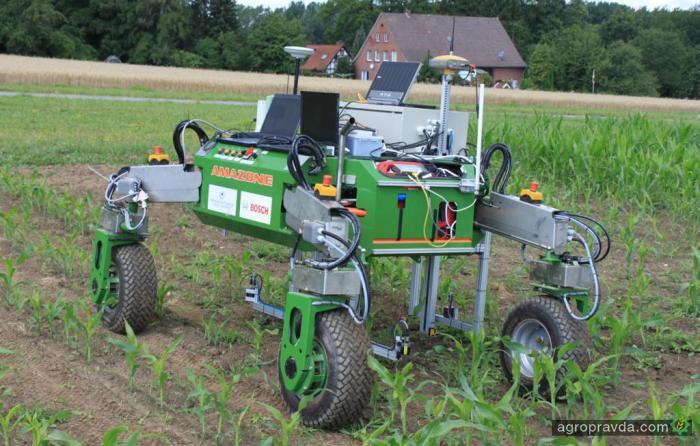 Аграрный робот – на поле. Видео