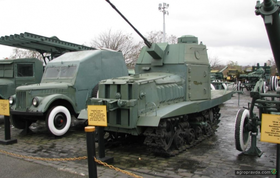 Тракторы Победы