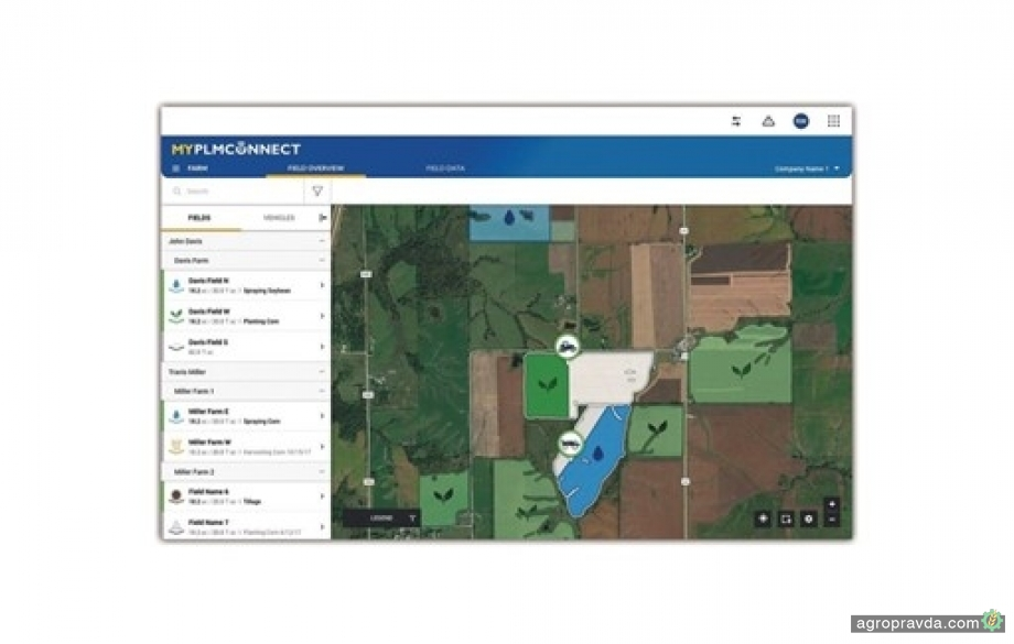 New Holland обновил платформу MyPLM Connect Farm