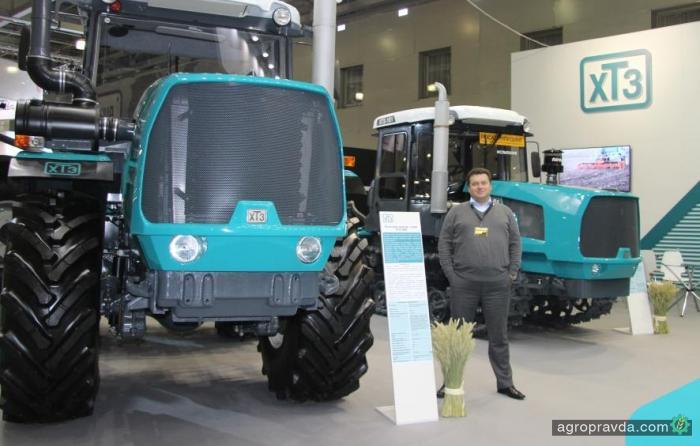 ХТЗ показал новую модельную линейку тракторов