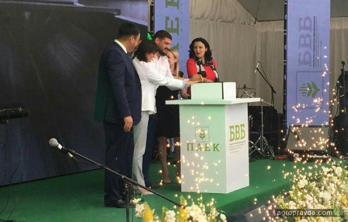 В Украине открыли новый мощный элеваторный комплекс