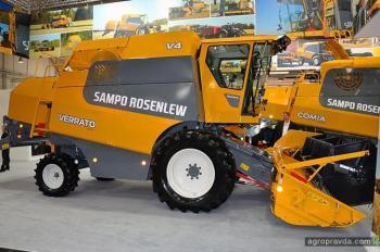 Sampo Rosenlew представил новые поколения комбайнов