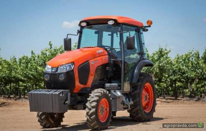 Kubota представила новые садовые трактора