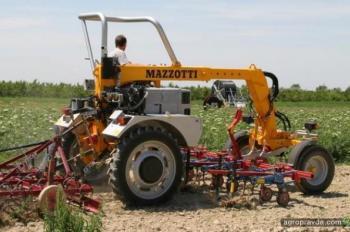 Mazzotti представил мульти-трактор