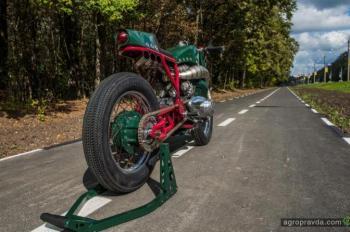 Украинский мотоцикл занял 1-е место на Чемпионате Мира по Кастомайзингу