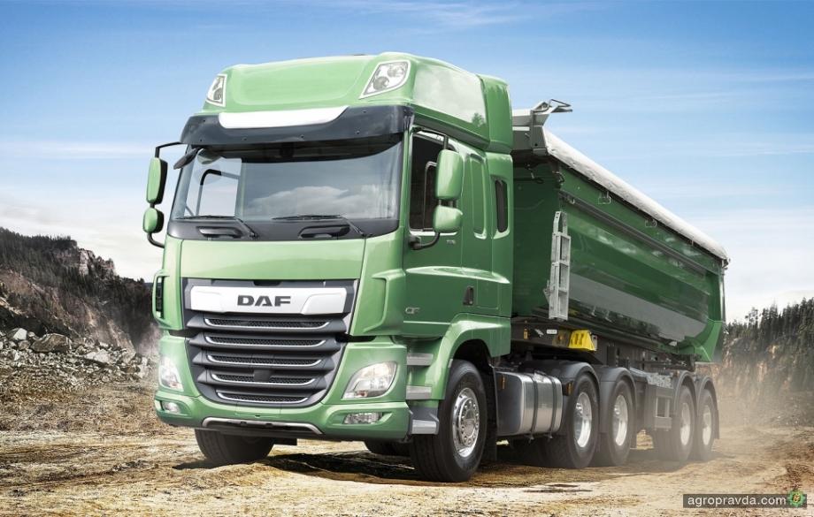 DAF представит в Украине грузовики для аграриев