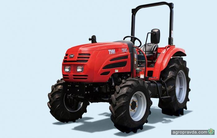 Появились новые тракторы TYM