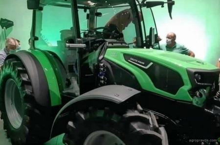 В сеть попали шпионские фото нового трактора Deutz-Fahr