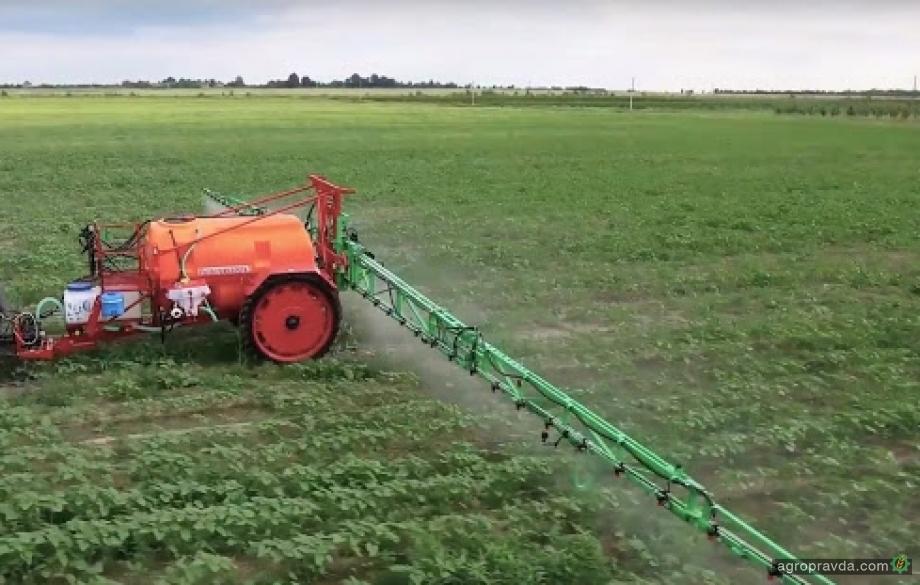 На рынок Украины вышло новое жидкое комплексное удобрение