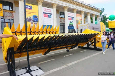Какие новинки агротехники представил в Киеве отечественный John Greaves