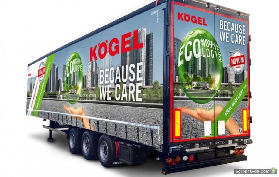 Kögel представил новый облегченный полуприцеп