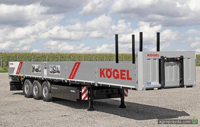 Kogel представил новый седельный прицеп Multi